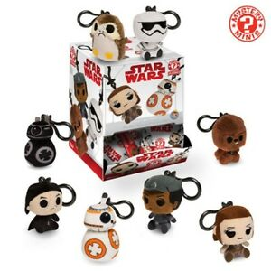 Funko Plushies Star Wars The Last Jedi character clip-ons