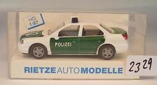 Rietze 1/87 Ford Mondeo Ghia Limousine Polizei Haubenbeschriftung DO OVP #2329