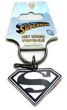 Super Man Key Chain - Superman Metal Key Holder Black Logo