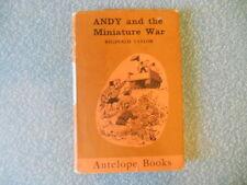 ANDY AND THE MINIATURE WAR reginald taylor ANTELOPE BK 1st ed 1962 hbdj