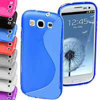S-Line Wave TPU Case Silicone Gel Skin Cover For Samsung Galaxy S3 i9300 S III 3
