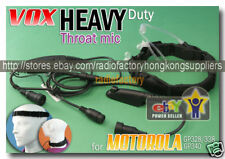 VOX/PTT Throat-Vibration for Moto GP338  GP328 E96M328
