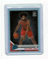 2019-20 Donruss Optic Coby White RC Rated Rookie Silver Holo Prizm #180 Bulls