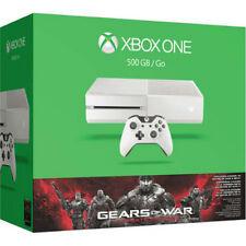 Xbox One White 500GbfunBundleSkinSpecEdi tGearsVeteransExperience19 MapsConsole