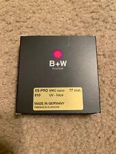 Genuine B+W 77mm XS-PRO Digital MRC nano 010M XSP UV-Haze Filter 1066125