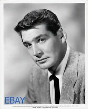 Gene Barry grim and serious 1952 VINTAGE Photo