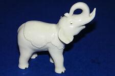 Lenox Ivory Colored Porcelain Circus Elephant w Gold Trim Figurine