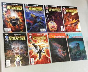 Metaphysique 1-6 + 1992 Eclipse 1 & 2 Complete Sets Malibu Comics 1995 (MT02)