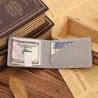 Metal Clip Small Pocket Slim Wallet Money Clip Men's Purses Cash Clamp Wallets