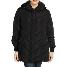 Steve Madden Women's Plus Size Water Resistant Quilted Winter Puffer Coat