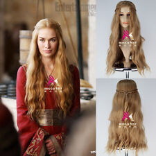 A Game of Thrones Cersei Lannister Wig Long Wavy Golden Brown Cosplay Wig