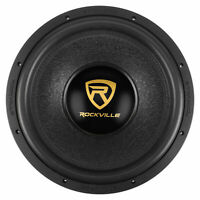 "Rockville W15K9D4 15"" 5000w Car Audio Subwoofer Dual 4-Ohm Sub CEA Compliant"
