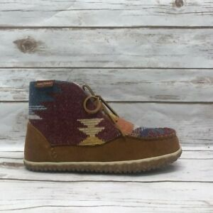 Minnetonka Women's Torrey Boot - Brown Multi