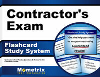 Contractor's Exam Flashcard Study System