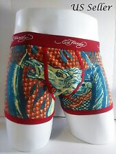 Ed Hardy Men's Dead or Alive Horse Print Short Boxer Briefs Size Large - 10% off