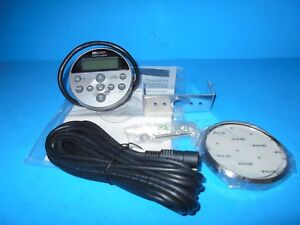 *MB QUART WRC-S1 COMPACT ROUND WIRED REMOTE FOR ALL MB QUART MARINE RADIOS