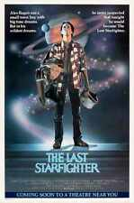 Last Starfighter Poster 02 A2 Box Canvas Print