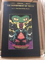 Department of Truth Vol. 1 TPB ZIRITT Third Eye VARIANT LTD TO 500 Image Comics