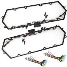 Diesel Valve Cover Gasket w/ Injector Glow Plug Harness Set for Ford 7.3L V8 USA