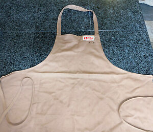 Vintage~ Jack In The Box Employee Fast Food Apron Brown