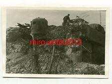 Photo, wehrmacht, Bunker, chars Dôme, panzerwerk, Neuf-Brisach, France, 1