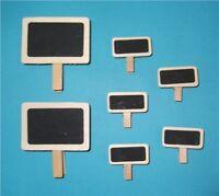 Blackboard Chalkboard Clip Pegs: plants, labels pub, memo, wedding, small & mini