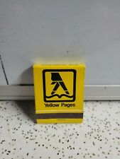Vintage YELLOW PAGES Matchbook / Indiana Bell Advertising