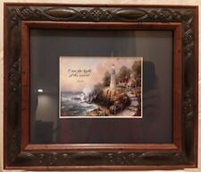 Thomas Kinkade, Light of Peace, Framed, Includes two choices of matting