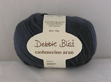 Debbie Bliss Cashmerino Aran X 50g Choose Colour 57 Indigo