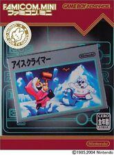 Famicom Mini Ice Climber GBA Game boy Advance、