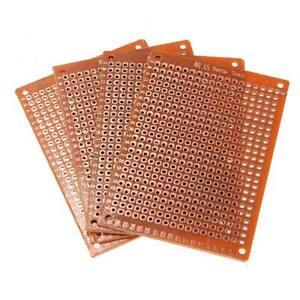 4 Placa prototipo 5x7cm PCB experimental arduino perforada DYB BREADBOARD