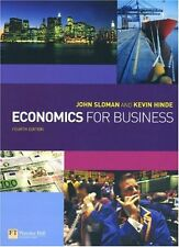 Economics for Business,Mr John Sloman, Kevin Hinde