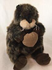 """Unipak Realistic Otter Chubby Plush Stuffed Animal Toy 10"""""""
