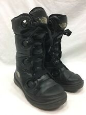 The North Face Boots Womens 7 Goose Down Nylon Puffer Winter Fall Fashion Black