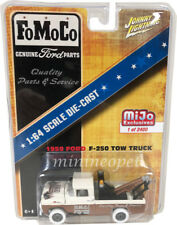 JOHNNY LIGHTNING JLCP7037 1959 FORD F-250 FOMOCO TOW TRUCK 1/64 BROWN Chase