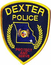 Dexter Police Patch Missouri MO NEW!!