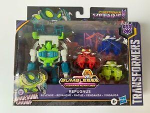 Transformers Bumblebee Cyberverse Adventures Repugnus Gruesome Chomp Figure