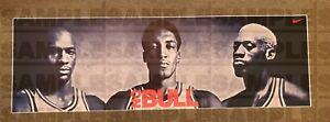 Chicago Bulls No Bull poster Jordan Pippen Rodman