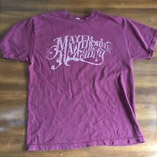 Mayer Hawthorne & The County RARE PROMO T-SHIRT Stones Throw Burgundy Mens Large