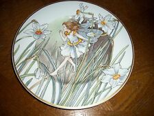 CICELY MARY BARKER Fairies of the Fields & Flowers NARCISSUS Fairy Plate Ltd Ed