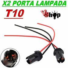 2 Portalampada Per Led T10 base Supporto Porta Lampada Per Luci Fari Posizione