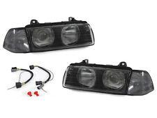 DEPO Glass Lens Projector Euro Headlight+Smoke Corner Light For BMW E36 2D Coupe