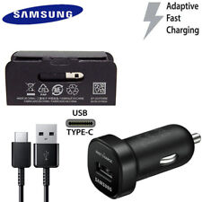OEM Samsung USB-C Type C Fast Charge Car Charger Galaxy S8 S9 S10 Plus Note 10 8
