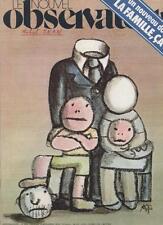 Le Nouvel Observateur   N°626   8 Au 14 Novembre 1976: La famille