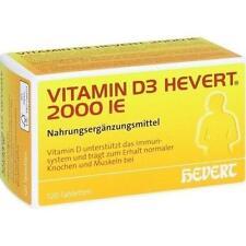 VITAMIN D3 Hevert 2.000 I.E. Tabletten 120 St PZN 11295441