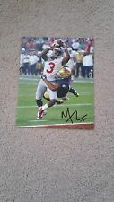 Mike Thomas signed 8x10 photo Ohio State Buckeyes vs Notre Dame Sugar Bowl
