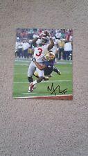 Mike Thomas signed 8x10 photo Ohio State Buckeyes vs Notre Dame Sugar Bowl