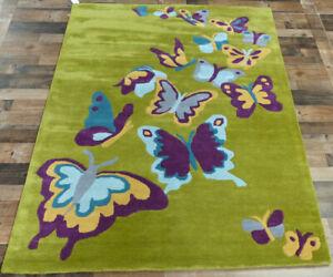 Butterflies Wool Area Rug Area Rugs For Sale Ebay