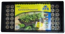 Seed Starter Kit Tray 72 Piece Labels Greenhouse Plant Propagation Pellet Garden
