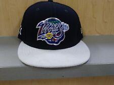 9183a08a1db New Era New York Yankees snapback hat Navy Gray Vintage World Series Aaron  Judge